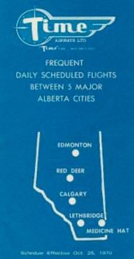 Time Air Sched 1970
